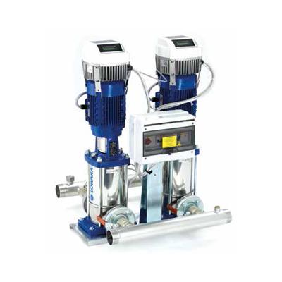 Centrais Hidropressoras com velocidade variável LOWARA GHV