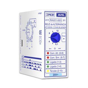 Relé de Alternância c/ temporizador - 411RA221